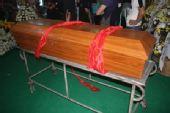 图文:徐浪追悼会在武义举行 徐浪的灵柩