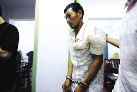 行凶者之一张某被抓获归案