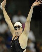 图文:美奥运选拔赛 霍夫获女子800米自由泳冠军