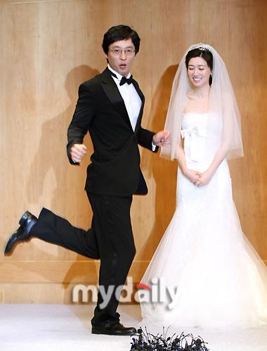 组图:刘在石婚礼举行+众一线艺人前往祝福-搜狐