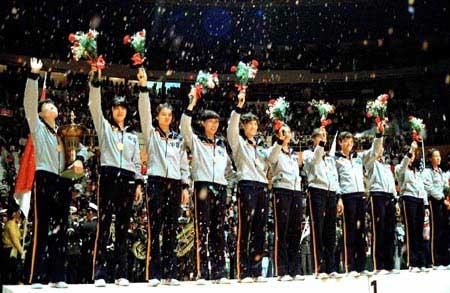 图文:中国女排辉煌五连冠