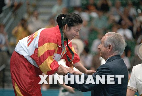 1992年,巴塞罗那奥运会.邓亚萍正处于年龄,运动成绩的巅峰.图片