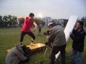 图文:《我们的奥林匹克》 投掷铁饼