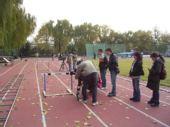 图文:《我们的奥林匹克》 拍摄栏架