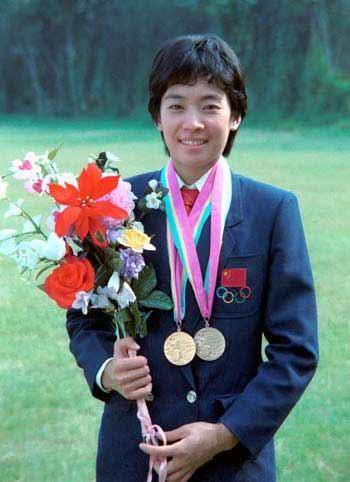 1984年奥运会中国明星马燕红