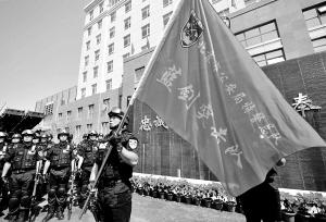 """北京特警""""蓝剑突击队""""全力保奥运"""