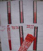图文:乞力马扎罗山脚下奥运情结 纸制模型