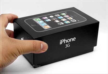 iPhone 3G中文版开箱图赏