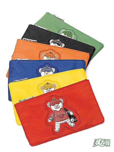 小熊零钱包亮丽可爱