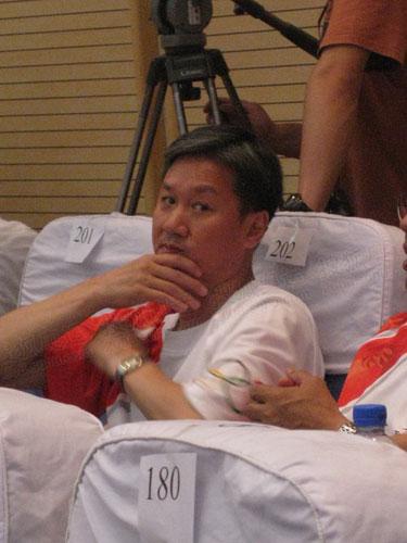 国家体操队总教练黄玉斌
