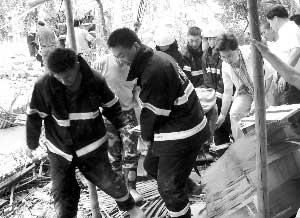 工人被成功营救