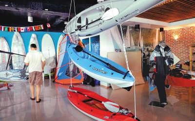 青岛奥帆赛训练基地接待多方运动员 博得一致好评