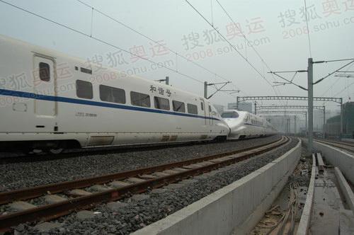 和谐号京津高速列车