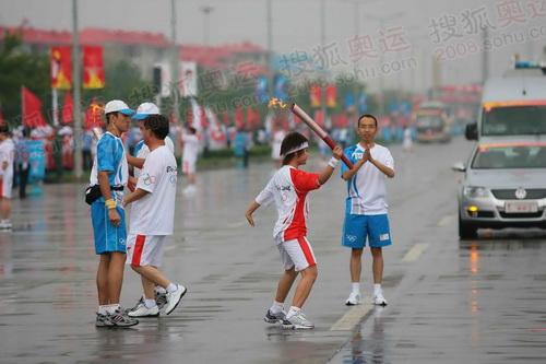 大庆73号联想火炬手马畅