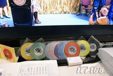 索尼DADC公司展出多款BD碟片