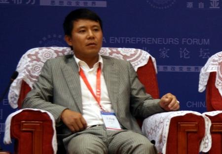 上海均瑶集团副董事长王均豪
