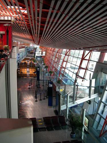 首都机场T3航站楼候机大厅