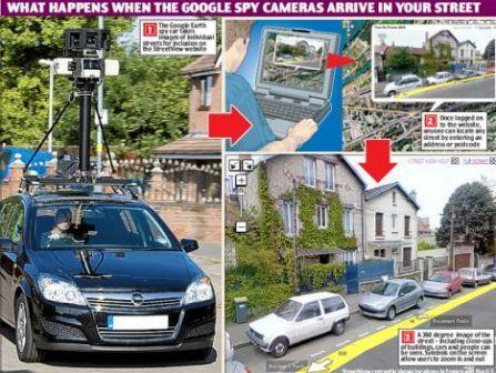 谷歌街景v街景车a街景搜刮地图图疑成罪犯初中?教科书帮手大连图片