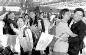 上海赴台首发团结束旅行 游客期待周年后再聚首