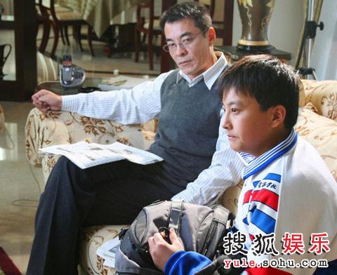 刘威饰演问题学生的父亲