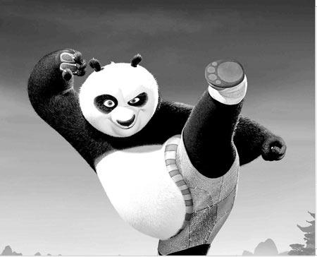 功夫熊猫海报