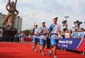 组图:火炬传递长春站 当地领导出席起跑仪式