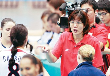 郎平率美国队参加北京奥运会的愿望已经实现