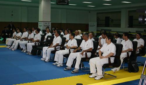 图文:跆拳道裁判培训班 跆拳道裁判
