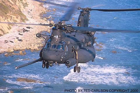 波音推出的mh-47e直升机