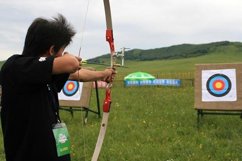 户外射箭运动!_户外_2011全国室外射箭团体锦标赛在福建莆田开赛