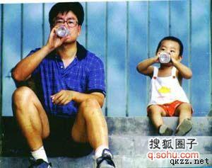 白岩松与儿子