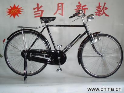 28老式过时自行车