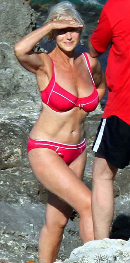 海伦-米伦63岁身材依旧