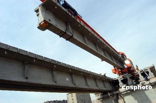 胶济铁路客运专线建设进入冲刺阶段 7月底通车(图)