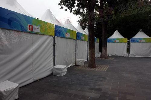 奥运纪念品交换区