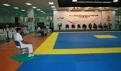 图文:中国跆拳道队进行教学表演 教学演练现场