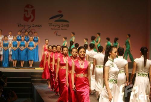 女装礼服惊艳全场,北京奥运会颁奖元素发布