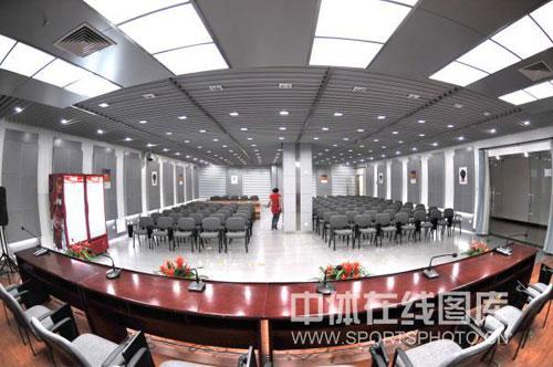 图文:秦皇岛奥体中心 新闻发布厅