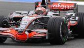 图文:F1德国站第二次练习 科瓦莱宁比赛中