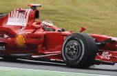 图文:F1德国站第二次练习 莱科宁红色狂飙