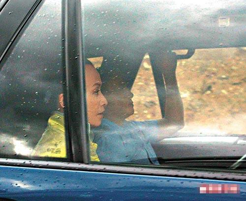 梁朝伟和刘嘉玲昨晚被目击乘车上山回饭店