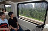 组图:北京三条奥运承诺新地铁同时开通试运营