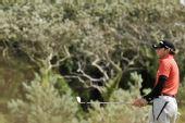 图文:英国公开赛第三轮 加西亚眺望远方