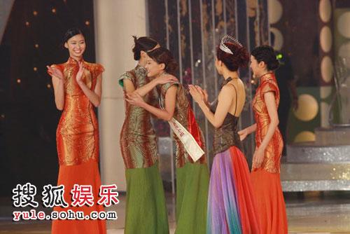 08港姐总决赛 亚军是6号陈倩扬