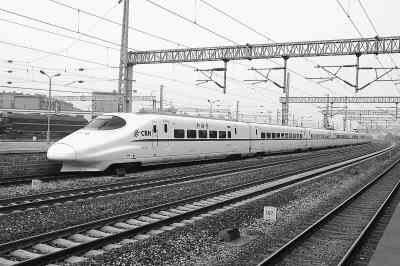 我国第一条铁路客运专线正式运营 服务奥运(图)