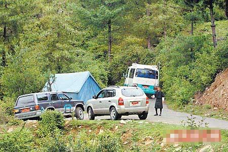 酒店所在地的整个山头都有警卫分区监视,过滤出入车辆