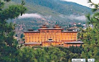 不丹风景如画