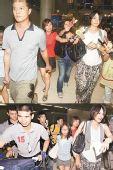 组图:王菲一家抵达不丹 疑似李嫣也来了