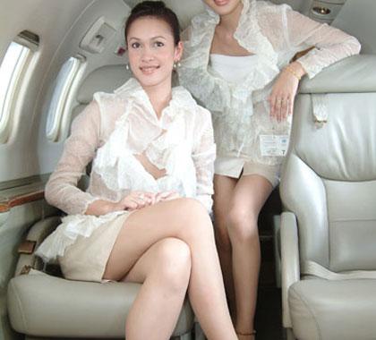 妖娆的泰国空姐