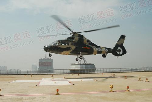 奥运期间需要急救的人员可以通过直升机直接飞抵医院